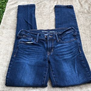 Old Navy mid-rise straight jeans